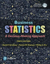 Omslag - Business Statistics plus Pearson MyLab Statistics with Pearson eText, Global Edition