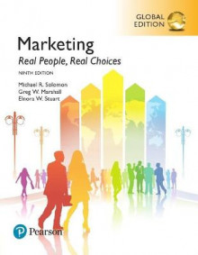 Marketing: Real People, Real Choices plus Pearson MyLab Marketing with Pearson eText, Global Edition av Michael Solomon, Greg Marshall og Elnora Stuart (Blandet mediaprodukt)