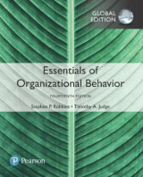 Omslag - Essentials of Organizational Behavior plus Pearson MyLab Management with Pearson eText, Global Edition