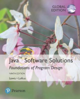 Omslag - Java Software Solutions, Global Edition