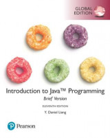 Omslag - Introduction to Java Programming, Brief Version, Global Edition