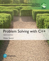 Omslag - Problem Solving with C++ plus Pearson MyLab Programming with Pearson eText, Global Edition