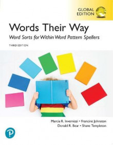 Words Their Way: Word Sorts for Within Word Pattern Spellers, Global Edition av Marcia Invernizzi, Francine Johnston, Donald Bear og Shane Templeton (Heftet)