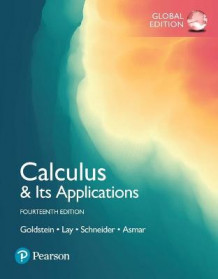 Calculus & Its Applications plus Pearson MyLab Mathematics with Pearson eText, Global Edition av Larry Goldstein, David Schneider, David Lay og Nakhle Asmar (Blandet mediaprodukt)