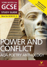 Omslag - AQA Poetry Anthology - Power and Conflict: York Notes for GCSE (9-1)