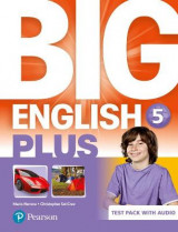Omslag - Big English Plus BrE 5 Test Book and Audio Pack