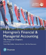 Omslag - Horngren's Financial & Managerial Accounting, The Financial Chapters, Global Edition