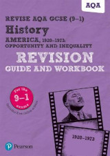 Omslag - Revise AQA GCSE (9-1) History America, 1920-1973: Opportunity and inequality Revision Guide and Workbook