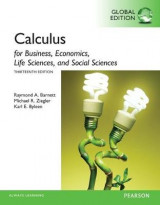 Omslag - Calculus for Business, Economics, Life Sciences and Social Sciences plus Pearson MyLab Mathematics with Pearson eText, Global Edition