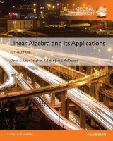 Omslag - Linear Algebra and Its Applications plus Pearson MyLab Mathematics with Pearson eText, Global Edition