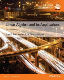 Linear Algebra and Its Applications plus Pearson MyLab Mathematics with Pearson eText, Global Edition av David Lay, Steven Lay og Judi McDonald (Blandet mediaprodukt)