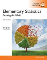 Omslag - Elementary Statistics: Picturing the World plus Pearson MyLab Statistics with Pearson eText, Global Edition