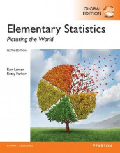 Elementary Statistics: Picturing the World plus Pearson MyLab Statistics with Pearson eText, Global Edition av Betsy Farber og Ron Larson (Blandet mediaprodukt)