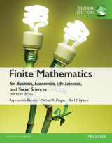 Omslag - Finite Mathematics for Business, Economics, Life Sciences and Social Sciences plus Pearson MyLab Mathematics with Pearson eText, Global Edition