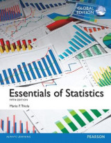 Omslag - Essentials of Statistics plus Pearson MyLab Statistics with Pearson eText, Global Edition
