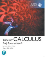 Omslag - Thomas' Calculus: Early Transcendentals plus Pearson MyLab Mathematics with Pearson eText in SI Units