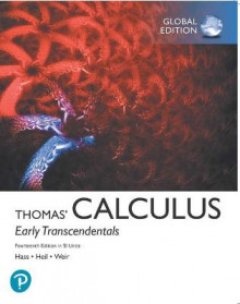 Thomas' Calculus: Early Transcendentals plus Pearson MyLab Mathematics with Pearson eText in SI Units av Joel Hass, Christopher Heil og Maurice Weir (Blandet mediaprodukt)