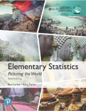 Elementary Statistics: Picturing the World, Global Edition av Betsy Farber og Ron Larson (Heftet)