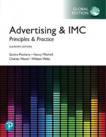 Advertising & IMC: Principles and Practice, Global Edition av Sandra Moriarty, Nancy Mitchell, William Wells og Charles Wood (Heftet)