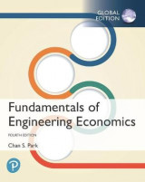 Omslag - Fundamentals of Engineering Economics plus Pearson MyLab Engineering with Pearson eText, Global Edition