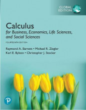 Calculus for Business, Economics, Life Sciences, and Social Sciences, Global Edition av Raymond Barnett, Karl Byleen, PROVANCE, Christopher Stocker og Michael Ziegler (Heftet)