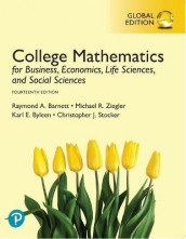 College Mathematics for Business, Economics, Life Sciences, and Social Sciences plus MyLabMathematics with Pearson eText, Global Edition av Raymond Barnett, Karl Byleen, Christopher Stocker og Michael Ziegler (Blandet mediaprodukt)