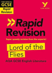 York Notes for AQA GCSE (9-1) Rapid Revision: Lord of The Flies - Refresh, Revise and Catch up! av Beth Kemp (Heftet)