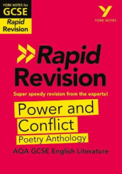 York Notes for AQA GCSE(9-1)Rapid Revision: Power and Conflict Poetry Anthology - Refresh, Revise and Catch up! av David Grant (Heftet)