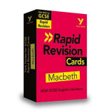 Omslag - York Notes for AQA GCSE (9-1) Rapid Revision: Macbeth Cards - Refresh, Revise and Catch up!