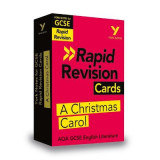 Omslag - York Notes for AQA GCSE (9-1) Rapid Revision: A Christmas Carol - Refresh, Revise and Catch up!