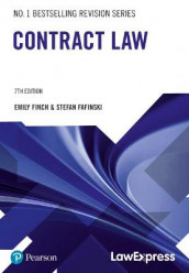 Law Express: Contract Law av Stefan Fafinski og Emily Finch (Heftet)