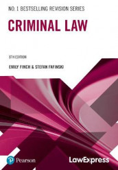 Law Express: Criminal Law av Stefan Fafinski og Emily Finch (Heftet)