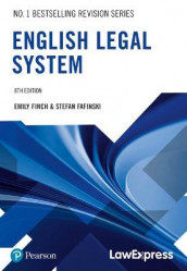 Law Express: English Legal System av Stefan Fafinski og Emily Finch (Heftet)