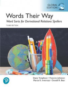 Words Their Way Word Sorts for Derivational Relations Spellers, Global Edition av Shane Templeton, Francine Johnston, Donald Bear og Marcia Invernizzi (Heftet)