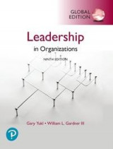 Omslag - Leadership in Organizations, Global Edition