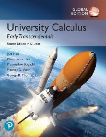 University Calculus: Early Transcendentals plus Pearson MyLab Math with Pearson eText, Global Edition av Joel Hass, Maurice Weir og George Thomas (Blandet mediaprodukt)