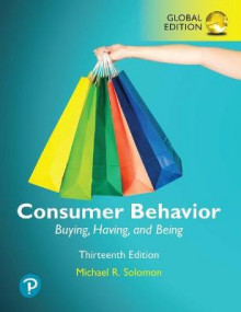 Consumer Behavior: Buying, Having, and Being plus Pearson MyLab Marketing with Pearson eText, Global Edition av Michael Solomon (Blandet mediaprodukt)