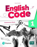 Omslag - English Code British 1 Assessment Book