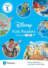 Omslag - Level 1: Disney Kids Readers Workbook with eBook and Online Resources