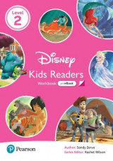 Omslag - Level 2: Disney Kids Readers Workbook with eBook and Online Resources