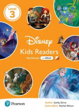 Omslag - Level 3: Disney Kids Readers Workbook with eBook and Online Resources