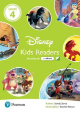Omslag - Level 4: Disney Kids Readers Workbook with eBook and Online Resources