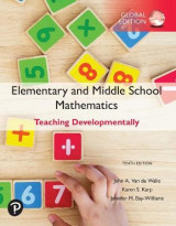 Omslag - Elementary and Middle School Mathematics: Teaching Developmentally, plus Pearson MyLab Programming with Pearson eText, Global Edition