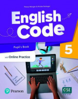Omslag - English Code British 5 Pupil's Book + Pupil Online World Access Code pack