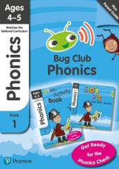 Phonics - Learn at Home Pack 1 (Bug Club), Phonics Sets 1-3 for ages 4-5 (Six stories + Parent Guide + Activity Book) av Rhona Johnston, Emma Lynch, Nicola Sandford, Joyce Watson og Jeanne Willis (Blandet mediaprodukt)