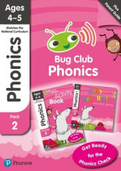 Phonics - Learn at Home Pack 2 (Bug Club), Phonics Sets 4-6 for ages 4-5 (Six stories + Parent Guide + Activity Book) av Monica Hughes, Rhona Johnston, Emma Lynch, Nicola Sandford, Joyce Watson og Jeanne Willis (Blandet mediaprodukt)