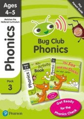 Phonics - Learn at Home Pack 3 (Bug Club), Phonics Sets 7-9 for ages 4-5 (Six stories + Parent Guide + Activity Book) av Jill Atkins, Monica Hughes, Rhona Johnston, Emma Lynch og Joyce Watson (Blandet mediaprodukt)