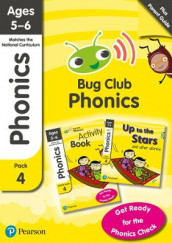Phonics - Learn at Home Pack 4 (Bug Club), Phonics Sets 10-12 for ages 5-6 (Six stories + Parent Guide + Activity Book) av Jill Atkins, Rhona Johnston, Emma Lynch, Paul Shipton og Joyce Watson (Blandet mediaprodukt)