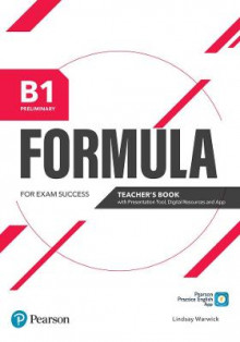 Formula B1 Preliminary Teacher's Book with Presentation Tool Digital Resources & App av Pearson Education (Blandet mediaprodukt)