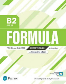 Formula B2 First Exam Trainer and Interactive eBook without Key with Digital Resources & App av Pearson Education (Blandet mediaprodukt)